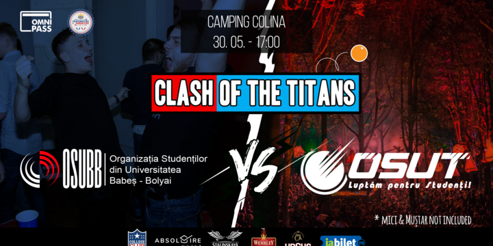 Outdoor Frat Party | Clash of the TITANS