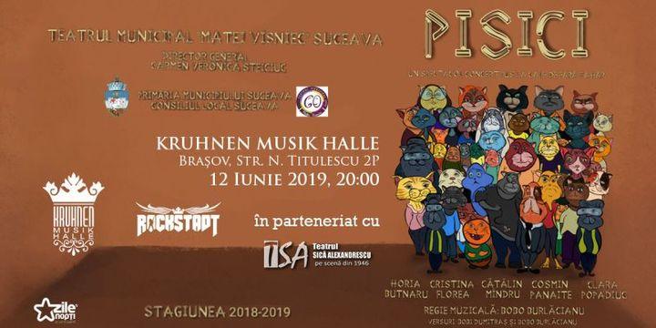 Spectacol concert - PISICI
