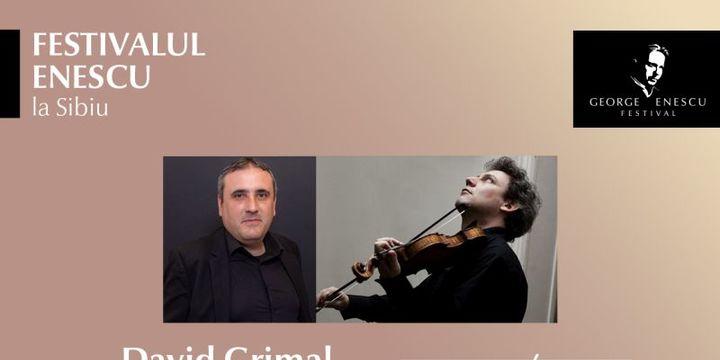 Recital David Grimal & G Asmaryan - Festivalul Enescu la Sibiu