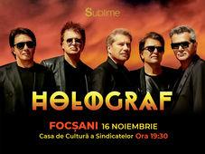 Focsani: Concert Extraordinar Holograf