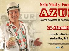 Iasi: Nelu Vlad si Formatia AZUR - Concert aniversar 40 de ani