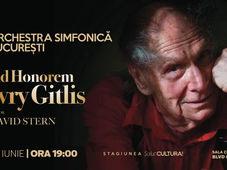 AD HONOREM Ivry Gitlis  - Orchestra Simfonica Bucurest