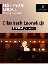 Recital Elisabeth Leonskaja - Festivalul Enescu la Cluj-Napoca