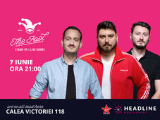 The Fool:   Stand-up comedy cu Micutzu, Claudiu și Mane