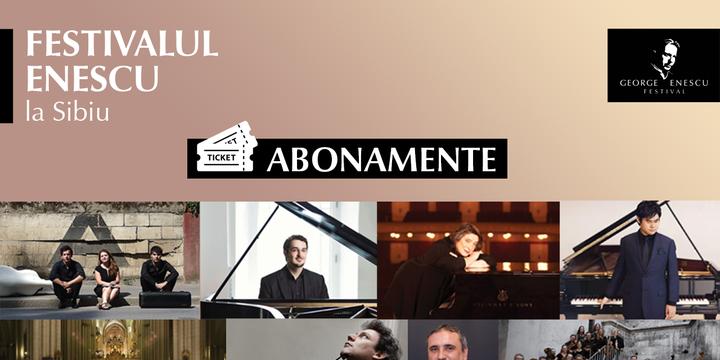 Festivalul Enescu la Sibiu - Abonamente