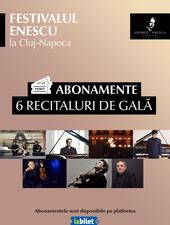 Festivalul Enescu la Cluj-Napoca - Abonamente