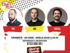 Stand Up Comedy cu Teo, Vio și Costel
