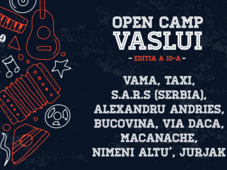 Open Camp Vaslui 2019