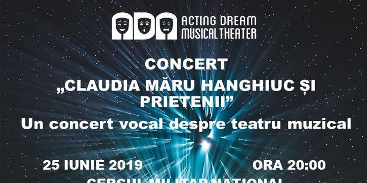 """Concert """"Claudia Maru Hanghiuc si prietenii"""""""