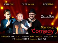 Stand-up Comedy Bucuresti - Sambata 8 Iunie