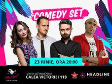 The Fool: Comedy Set cu Adi Bobo, Bucălae, Calița și Mane