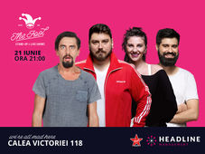 The Fool: Stand-up comedy cu Micutzu, Natanticu, Geo și Teodora