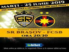 Meci amical SR Brasov - FCSB