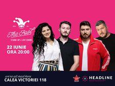 The Fool: Stand-up comedy cu Micutzu, Sorin, Ioana State și Claudiu