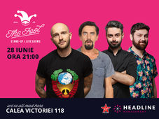 The Fool: Stand-up comedy cu Bordea, Natanticu, Bucălae și Raul Gheba