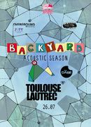 "Toulouse Lautrec si The Case canta pe terasa ""In spatele casei"" la Backyard Acoustic Season Timisoara"