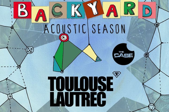 "Toulouse Lautrec si The Case canta pe terasa ""In spatele casei"" la Backyard Acoustic Season Timisoara"