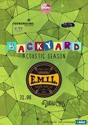 "EMIL & The Different Class canta pe terasa ""In spatele casei"" la Backyard Acoustic Season Timisoara"