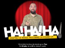 Stand up Comedy cu Teo la Ramnicu Valcea