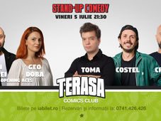 Stand Up Comedy cu Costel, Toma & Cristi Popesco
