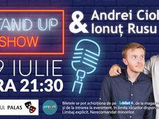 Iasi: Stand up comedy cu Andrei Ciobanu si Ionut Rusu