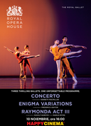 Concerto / Enigma Variations / Raymonda Act III - The Royal Ballet
