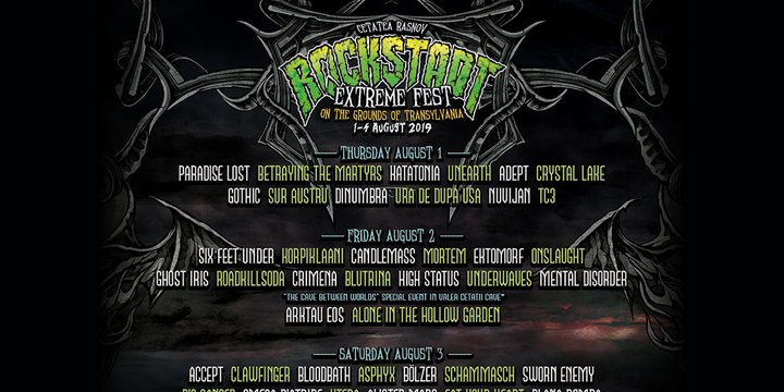 Bilete pe zile Rockstadt Extreme Fest 2019