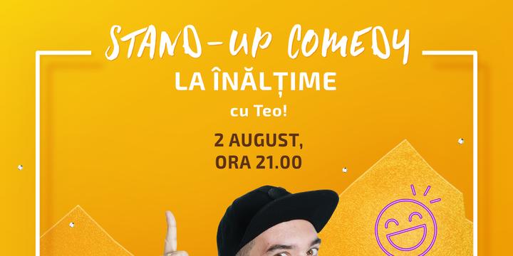 Show stand up cu Teo pe Terasa Shopping City Piatra Neamt