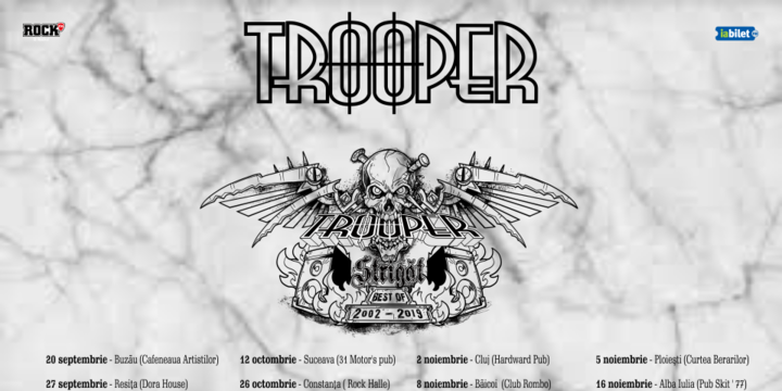 Sibiu: Trooper - Strigat (Best of 2002-2019)