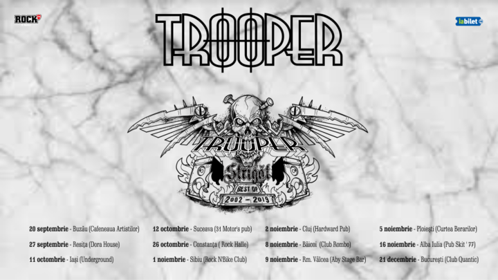Sibiu: Trooper - Strigat (Best of 2002-2019)