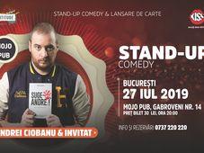 One Man Show Andrei Ciobanu cu invitat in deschidere