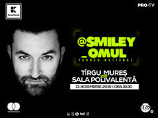 @Smiley_Omul la Targu Mures - Turneu National