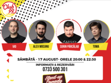 Stand up comedy Vio, Alex Mocanu, Toma si invitat în deschidere
