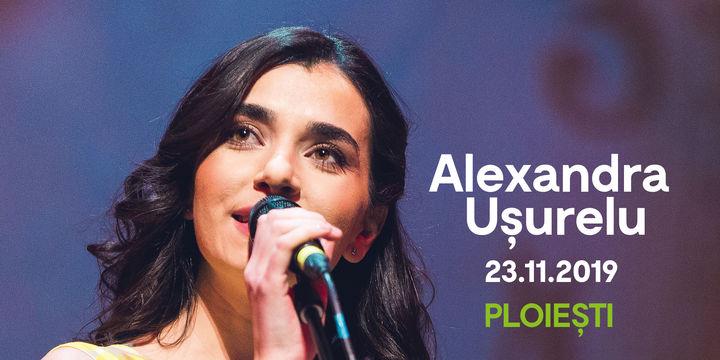 Alexandra Ușurelu în concert la Casa De Cultură a Sindicatelor Ploiești