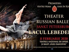 Constanta: Theatre Russian Ballet - Sankt Petersburg - Lacul Lebedelor