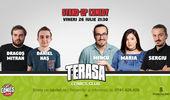 Stand Up Comedy cu Mincu, Maria & Sergiu pe Terasa Comics Club