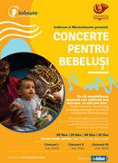 Concerte pentru bebeluși