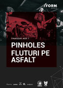 Pinholes & Fluturi pe Asfalt at /FORM SPACE