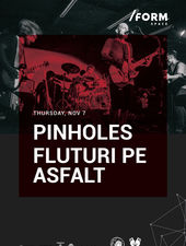 Pinholes & Fluturi pe Asfalt at /FORM SPACE