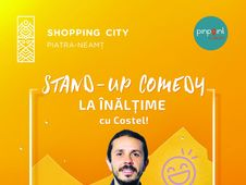 Show Stand-up Costel pe Terasa Shopping City  Piatra Neamt