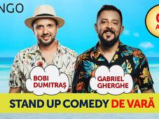 Stand Up Comedy de Vara cu Bobi Dumitras si Gabriel Gherghe @Sibiu