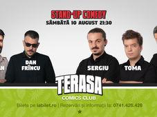 Stand Up cu Sergiu, Toma & Sorin pe Terasa Comics Club