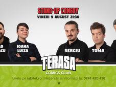 Stand Up cu Sergiu, Toma &Sorin pe Terasa Comics Club
