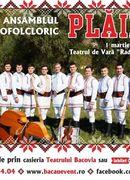 Bacău: Concert Ansamblul Plaiesii de la Bacau