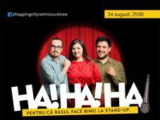 Stand Up Banciu ,Maria si Mincu pe Terasa Shopping City Ramnicu Valcea