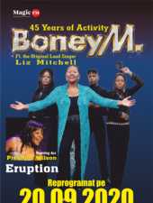 Boney M feat Liz Mitchell - 45th Activity (opening act Eruption)