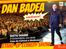 Stand Up Comedy: Dan Badea - amUmor @Satu Mare