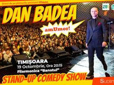 Stand Up Comedy: Dan Badea - amUmor @Timisoara