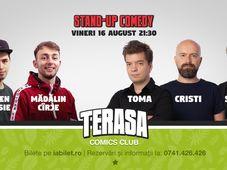 Cristi Popesco, Toma & Sergiu pe Terasa Comics Club