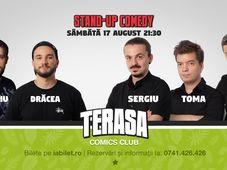 Sergiu, Toma & Sorin pe Terasa Comics Club